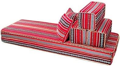 Comfy Authentic 7 Piece Majlis Floor Sofa Set-5