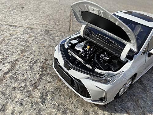 CYPP Auto Modelo 1: 18 para Corolla Estática Diecast Modelo De Automóvil Modelo De Aleación Simulación De Plástico Mini Modelo De Automóvil Modelo Adulto Adornos De Regalo De Juguete para Niños