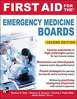 First Aid for the Emergency Medicine Boards 2/E (First Aid Series)