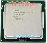 i5 2500K Processor Quad-Core 3.3GHz LGA 1155 TDP:95W 6MB Cache with HD Graphics i5-2500k