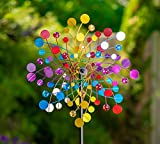 Creekwood Emerald Garden Wind Spinner-Multi-Colour (26 x 50 x 170 cm)