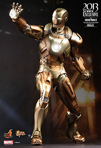 "[Movie Masterpiece] ""Iron Man"" 1/6 Scale Figure Iron Man Mark 21 (Midas) (japan import)"