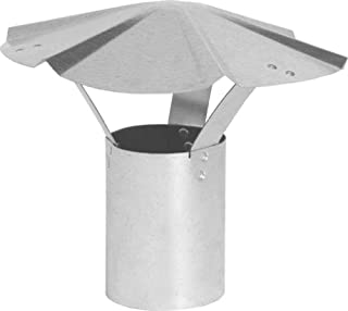 Best 6 inch black stove pipe rain cap Reviews