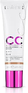 NEW Lumene CC Cream 6 in 1 Medium Coverage for all Skin Types SPF 20 Tan