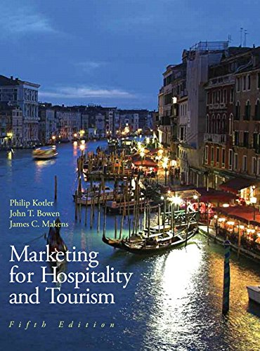 Marketing for Hospitality & Tourism (5th Edition)