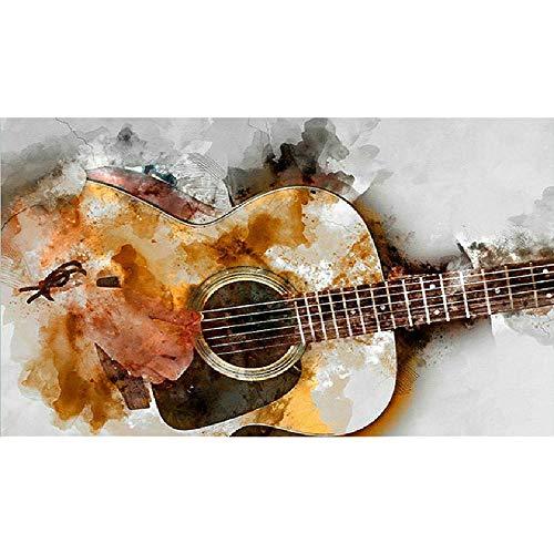 LYWUSUZE Puzzle 1000 Teile Erwachsene Für Holzpuzzle Gitarre Kinder Pädagogisches Spielzeug Moderne Zuhause Dekoration Einzigartiges Geschenk
