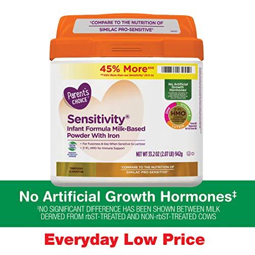 Parent's Choice Sensitivity Powder Infant Formula with Iron, 33.2oz