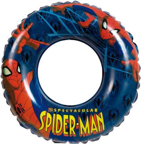 MT Creaciones MTSP1394602 Spiderman natación Inflable del A