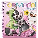 Depesche 11025 Create your TOPModel Doggy - Libro para colorear (22 x 21 x 1,5 cm)