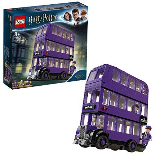 LEGO- Harry Potter Nottetempo Set di Costruzioni Bus a 3 Piani con 3 Minifigure, per Bambini da 8+ Anni e per Tutti Gli Appassionati, per Rivivere Le Avventure del Film, 75957