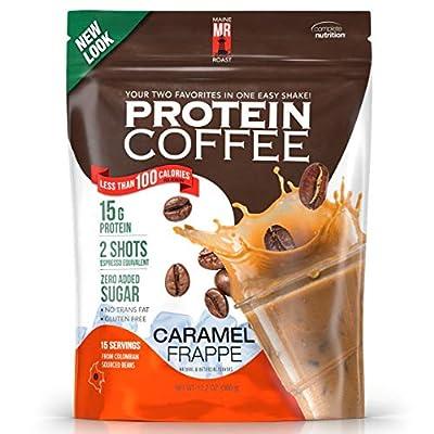 Complete Nutrition Maine Roast Protein Coffee, Whey Protein, Espresso, Keto Friendly …