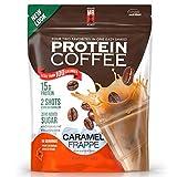 Complete Nutrition   Maine Roast Protein Coffee   Caramel Frappé Flavor   15g Whey Protein   2 Shots Espresso   80 Calories   12.7oz Pouch