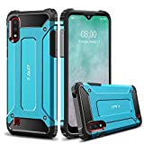 J&D Case Compatible for Samsung Galaxy A01 Case, Heavy Duty