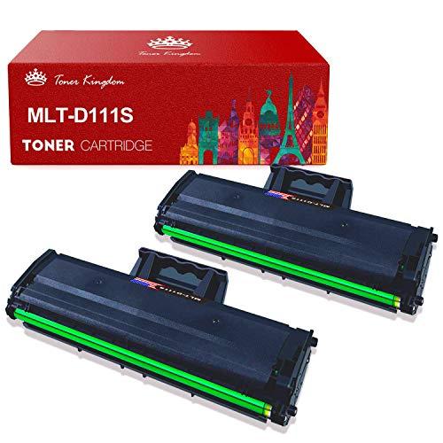 Toner Kingdom Compatibile Cartuccia Toner per Samsung MLT-D111S 111S per Samsung Xpress M2070 M2070W M2026 M2026W M2070FW M2020W M2020 M2022 M2022W (2