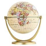 Annova Mini Antique Globe 4-inch / 10 cm - Swivels in All Directions Educational, Decorative, Unique, Small World, Desktop, Vintage (Mini Antique Globe)…