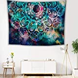 YiGanQiang Tapices, tapices de Setas de Colores Indio Boho Psychedélico Hippie Wall Colgando tapices Gran Toalla para la Playa de Yoga Mats Manta Lanzamiento (Color : 150 * 230cm)