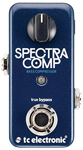 TC Electronic Bass Compression Effect Pedal (SPECTRACOMPBASSCOMPR)