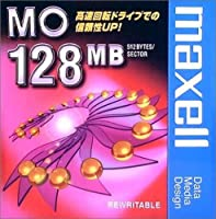 マクセル 3.5インチ MOディスク 128MB 1枚 アンフォーマット maxell MA-M128 B1P