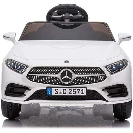 Babycar Mercedes CLS 350 AMG ( Bianca ) Nuova con Sedile in Pelle Macchina Elettrica per Bambini Ufficiale con Licenza 12 Volt Batteria con Telecomando 2.4 GHz Porte Apribili con MP3