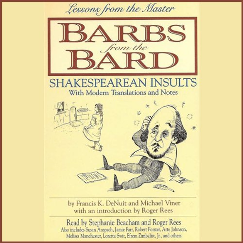 Barbs from the Bard audiobook cover art