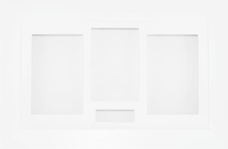 BabyRice 14.5x8.5 White Shadow wholesale Box Casts Medal Keepsake 3D Sale price Flowe