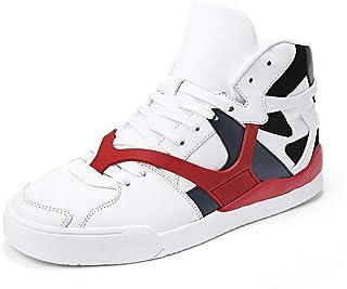 JIYE Men's Women's High Top Fashion Sneakers Korean-Style...