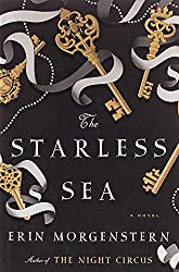 Rich results on Google's SERP when searching for 'the starless sea'