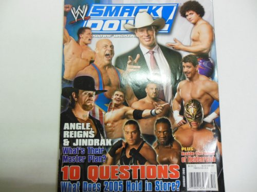 Wwe Magazine 'Angel' 'Undertaker' 'John Cena' January 2005