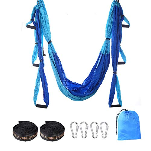 Best Prices! JKGLD Yoga Hammock Aerial Yoga Hammock Inverted Inverted Yoga Hammock with Hanging Plat...