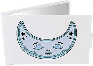 'Crescent Moon Face' Compact / Travel / Pocket Makeup Mirror (CM00024332)