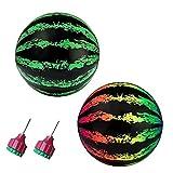 Watermon Ballon Ballon sous-marin Piscine gonflable de piscine avec tête d'injection d'eau 2pcs Sports aquatiques