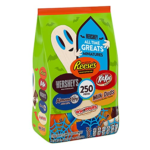 HERSHEY'S Halloween Candy, All Time Greats Miniatures Assortment, 81.4 Oz