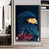 Puzzle 1000 piezas Cartel de animal de rinoceronte salvaje africano pintura de colibrí de águila de estilo nórdico puzzle 1000 piezas educa Rompecabezas de juguete de descompr50x75cm(20x30inch)