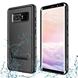 Transy Samsung Galaxy Note 8 Waterproof case Full-Body Protective Underwater Cover with Built-in Screen Protector Design...
