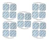 TENS Électrodes set de 20 électrodes auto-adhésives réutilisables de haute qualité 5cm x 5cm par Healthcare World