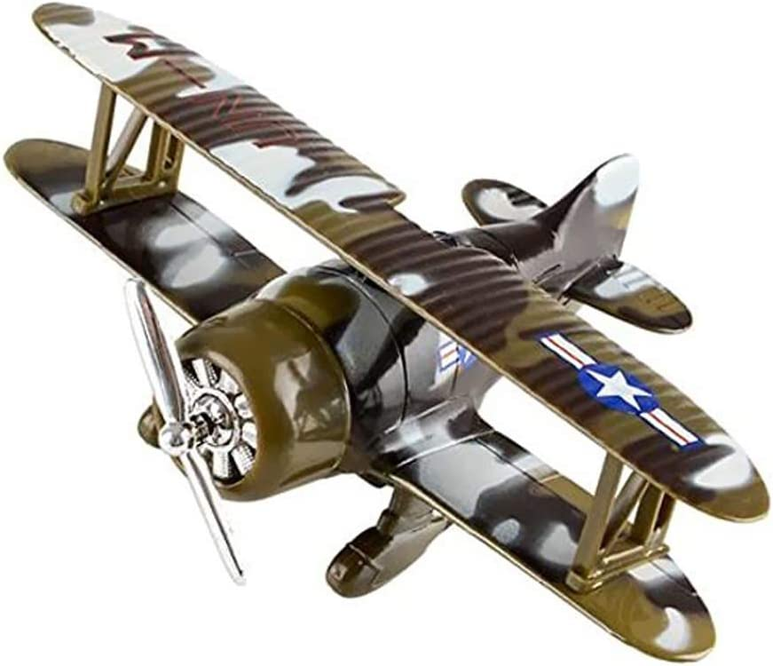 Winter Camo US Air Force Pullback Diecast Metal Toy 6.5 Camo Air Planes