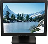 ViewEra V157TP LCD Touch Screen Monitor, Black, 15' Diagonal Screen Size, 5-Wire Resistive Touch Sensor, Maximum Resolution 1024x768, Brightness 250 cd/m2, Contrast Ratio '500:1, Response Time 12ms