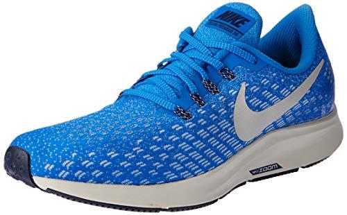Nike Herren Air Zoom Pegasus 35 Laufschuhe, Mehrfarbig (Cobalt Blaze/Light Bone/Sail/Blue Void 001), 45.5 EU