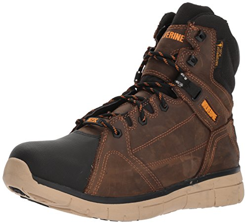 Wolverine Men's Rigger WPF Soft-Toe Mid Wedge Construction Boot, Summer Brown, 13 M US