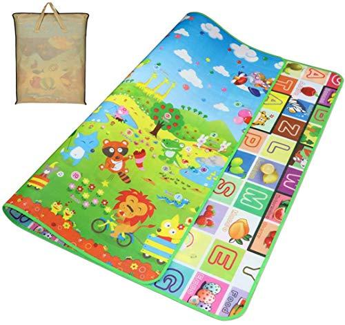 Tappeto Giochi Bambini Tappeto Ripiegabile Tappeto Bambini Tappeto Puzzle Bambini Giochi per Cameretta Bambini Tappetino, Pavimento Antitrauma Tappeto Gioco