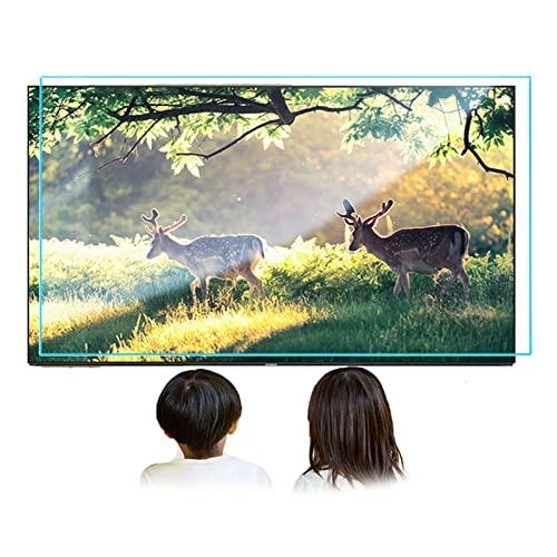 Protectores De Pantalla De TV Mate Antirreflejos Película Anti Luz Azul para Smart TV Alivie La Fatiga Ocular Y Duerma Mejor,49 in 1075 X 604mm