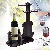 XY&XH Kreatives Weinglasregal im europäischen Stil, Glasregal, hängend Geigen-Stil Weinregal