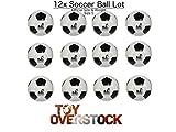 (Lot of 12) Soccer Balls Size...