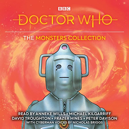 Doctor Who: The Monsters Collection audiobook cover art