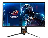 ASUS ROG Swift PG258Q - Monitor Gaming de 24' (240 Hz nativos, WLED TN, resolución FHD 1920 x 1080, 16:9, Brillo 400 CD/m2, Contraste 1.000:1, Respuesta 1 ms GTG, G-Sync)