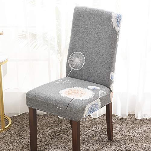 Funda para Silla Elástica Cuatro Estaciones Funda para Silla Universal con Todo Incluido Material De Poliéster Transpirable Suave Lavable Adecuado para Hoteles Domésticos