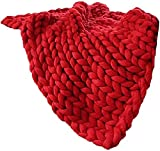 TDMYCS Ultra Soft Lanzamiento Manta Chunky Knit Manta Lanzar...