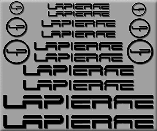 PEGATINAS LAPIERRE R252 STICKERS AUFKLEBER DECALS AUTOCOLLANTS ADESIVI
