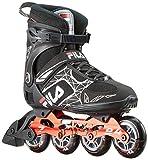 FILA Herren Legacy Pro 84 Inline Skate, schwarz/rot, 9