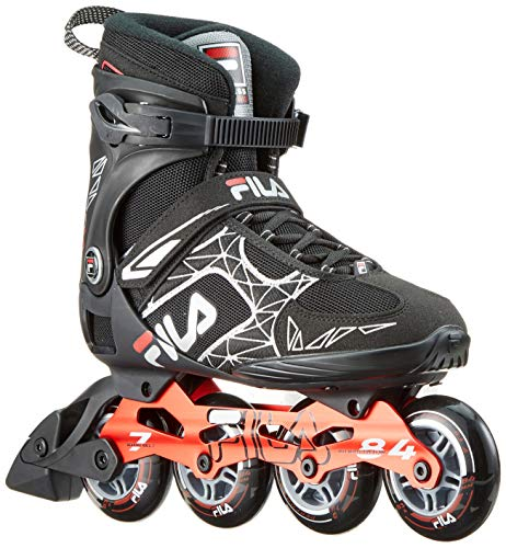 FILA Herren Legacy Pro 84 Inline Skate, schwarz/rot, 8
